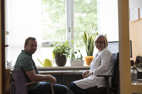 Erwin en Marja